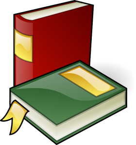 Pile of books from pixabay.com